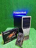 Игровой Настроенный Dell Precision t3500, 6(12) ядер, Core i7 (Xeon) 24gb ОЗУ, 500GB HDD, GTX 1050 Ti 4 GB, фото 2