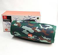 Портативная колонка bluetooth блютуз акустика для телефона с флешкой повербанк камуфляж CHARGE4+