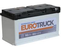 Автомобильный аккумулятор Eurotruck 6СТ-110