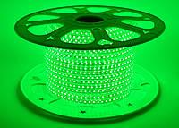 Светодиодная лента SMD 2835 (120 led/m) Slim IP68 Зеленая 220V Econom
