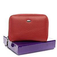 Визитница Classic кожа DR. BOND WS-2 red.Женский кожаный кошелек оптом.