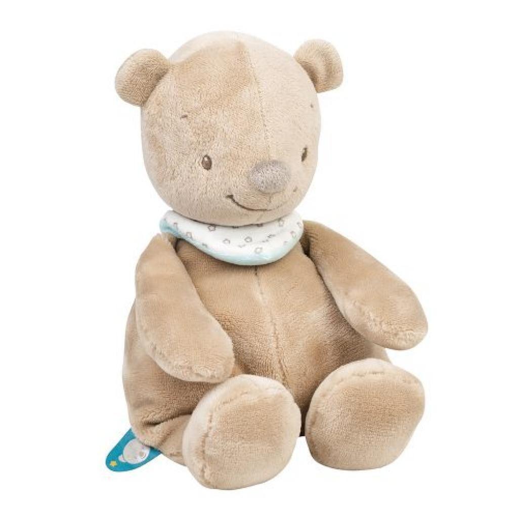Мягкая игрушка Nattou мишка Базиль 28 см (562010)