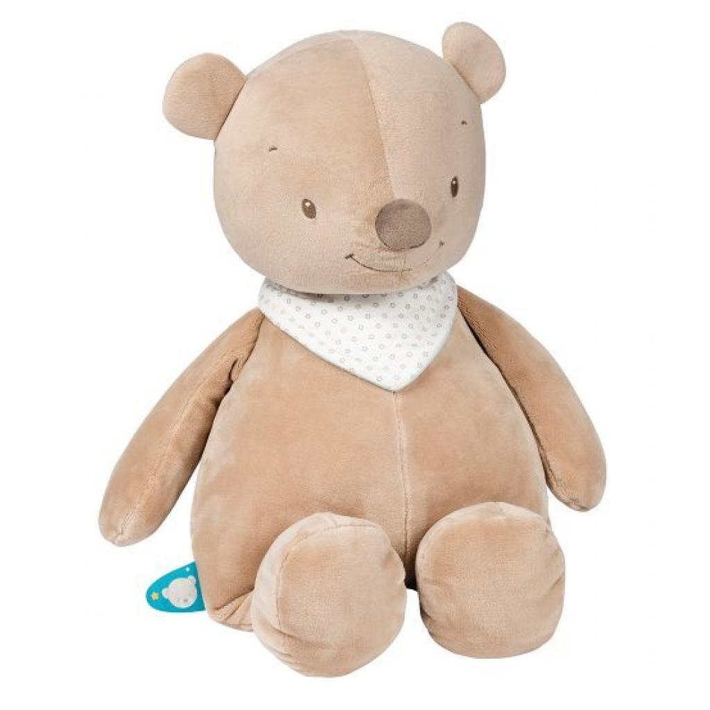 Мягкая игрушка Nattou мишка Базиль 75 см (562027)
