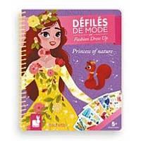 Набор для творчества Janod Блокнот модные наряды Принцессы (J07832), фото 1