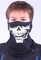 Подростковая термомаска с рисунком черепа, бафф Radical S12, фото 1