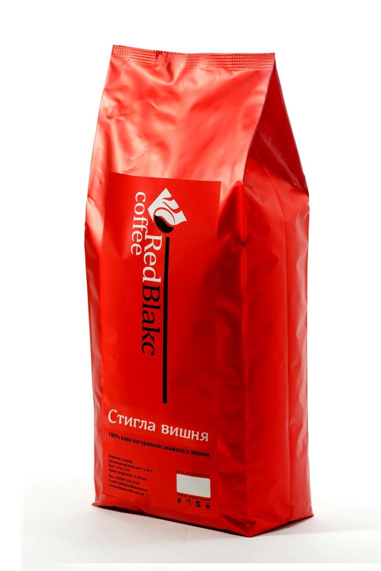 Кофе Спелая вишня RedBlakcCoffee в зернах 1000 г