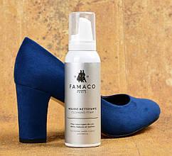 Купить пену для чистки обуви из кожи и текстиля Famaco Mousse Nettoyante, 125 мл