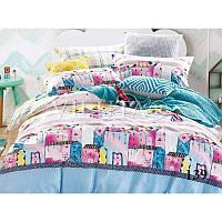 139 Подростковый комплект постельного белья Сатин Viluta
