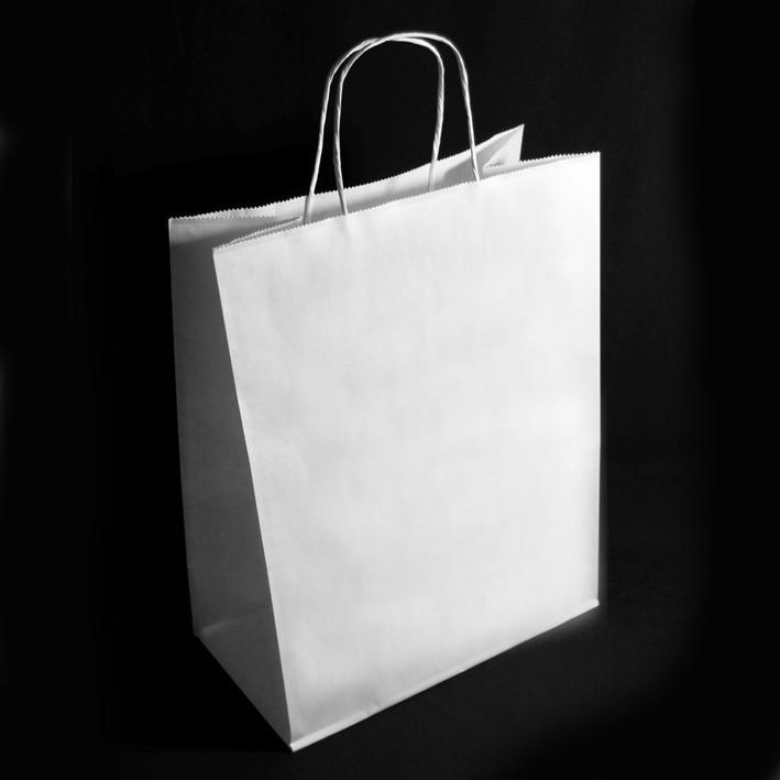 Пакет крафт белый 250х110х320 Стандарт 100шт