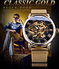 Механические часы Forsining Rich (gold), фото 8