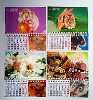 Календарь магнит на холодильник Год Крысы 2020  16*14 см