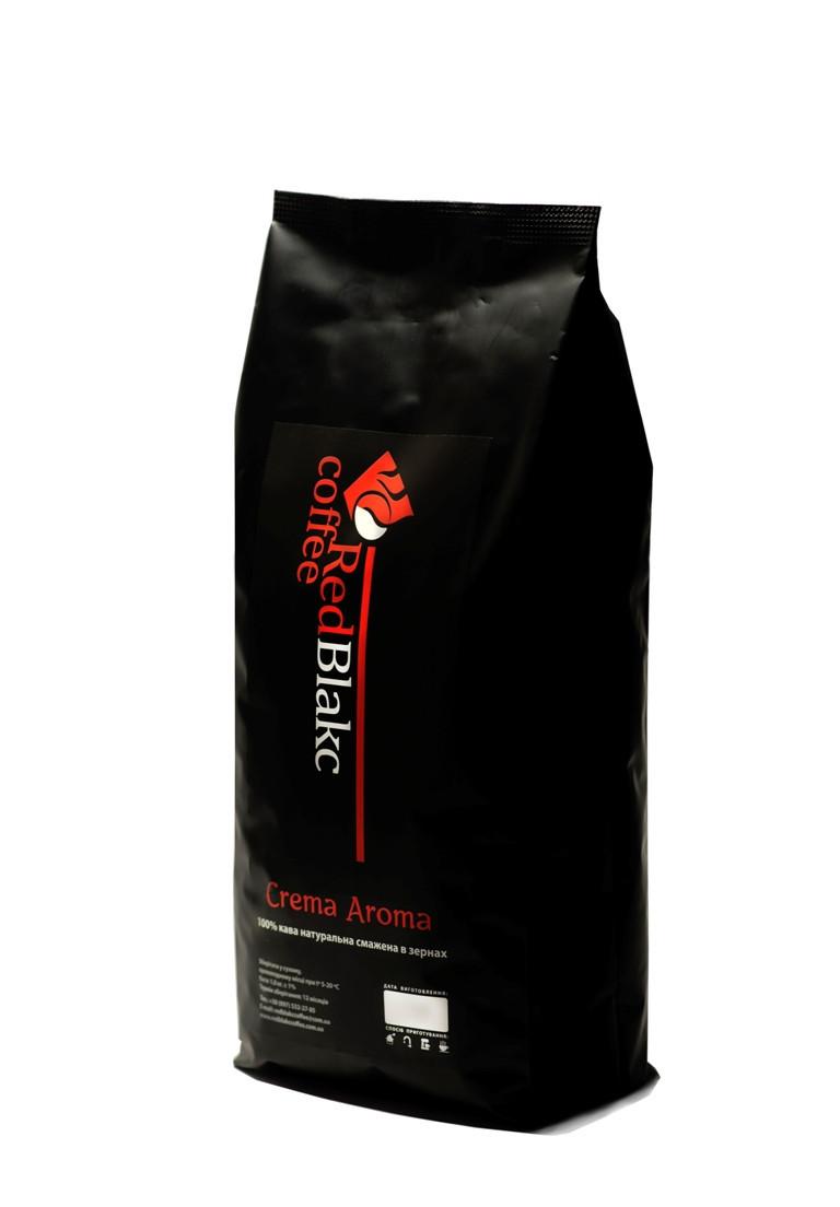 Кофе Crema Aroma RedBlakcCoffee в зернах 1 кг