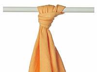 Пеленка детская бамбуковая, муслиновая XKKO 90x100 двухслойная 1 шт. Оранжевая