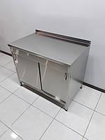 Стол тумба с раздвижными дверьми 1000х600х850