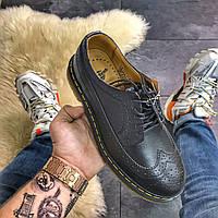 Туфли кожаные Dr Martens 3989 Black