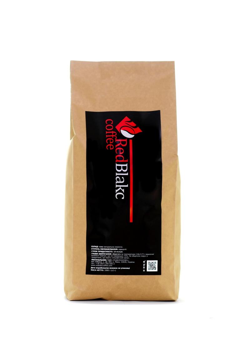Арабика Индия Плантейшн, кофе RedBlakcCoffee в зернах 1 кг