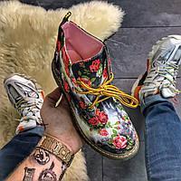 Женские демисезонные ботинки Red Flower. Хит продаж.Dr. Martens