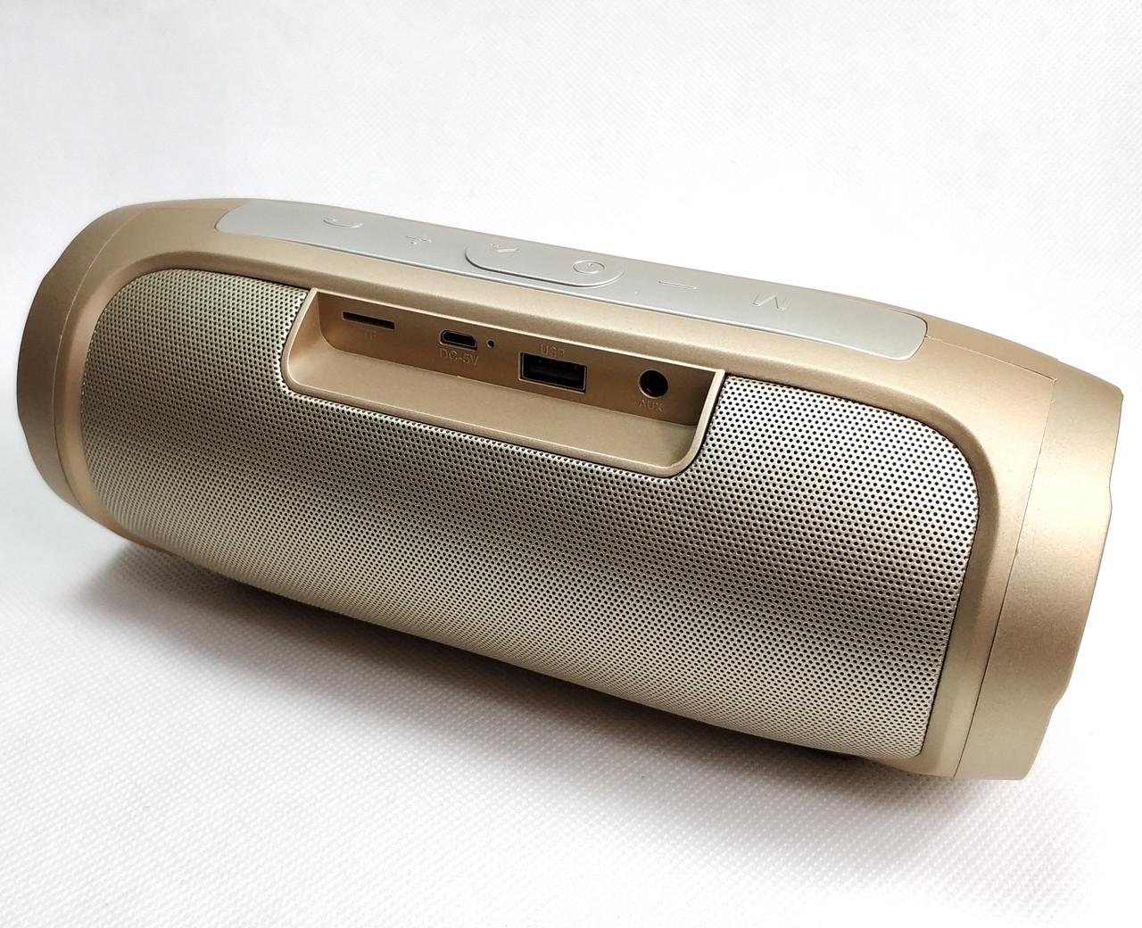 Портативная блютуз колонка акустика bluetooth для телефона с флешкой charge 2+