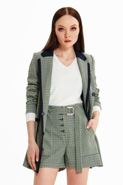Женский деловой костюм с шортами Noche Mio
