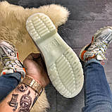 Кожаные туфли, демисезонные Dr Martens 1461 Triple White. Топ продаж., фото 6