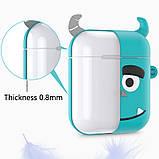 Мультяшный чехол IQEA для наушников Apple AirPods TWS i10 i12 i13 тип №3 Bluetooth Silicone Case, фото 4