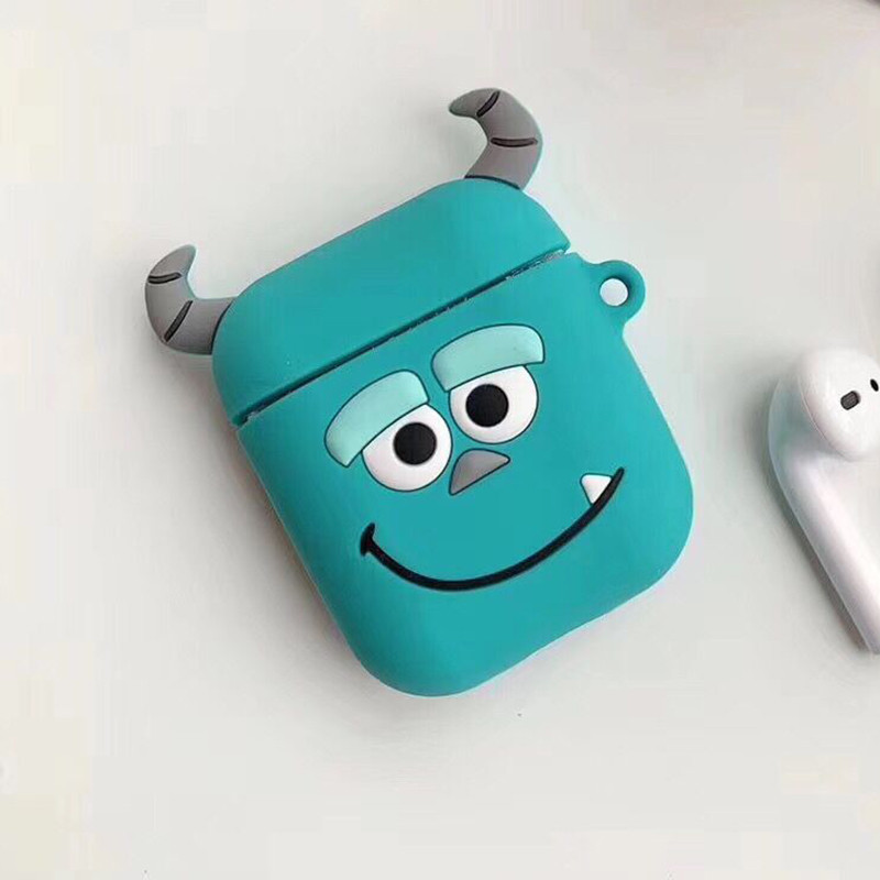 Мультяшный чехол IQEA для наушников Apple AirPods TWS i10 i12 i13 тип №3 Bluetooth Silicone Case