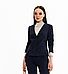 Синий деловой костюм от Noche Mio, фото 2