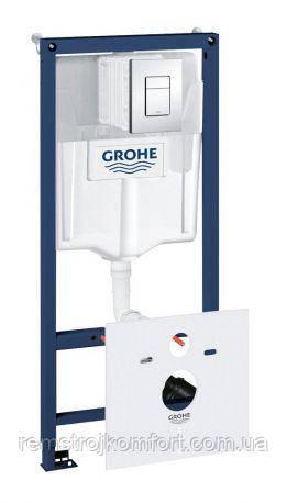 Комплект 5 в 1 GROHE Fresh для подвесного унитаза Rapid SL Grohe