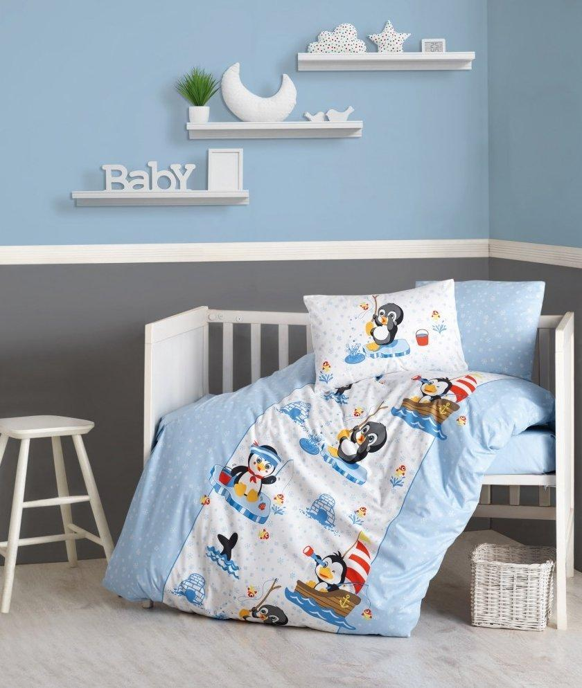 Детское постельное белье Penguen от Cotton Box