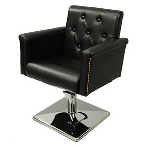 Парикмахерское кресло на квадрате с гидравликой А070