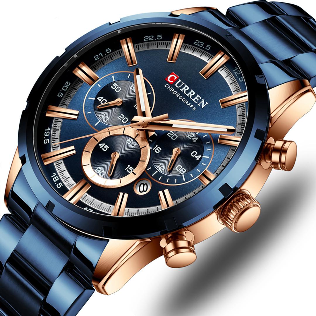 Мужские часы Curren 8355 (blue)