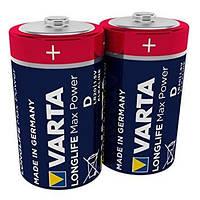 Батарейка VARTA Longlife Max Power D/LR20 (2шт)