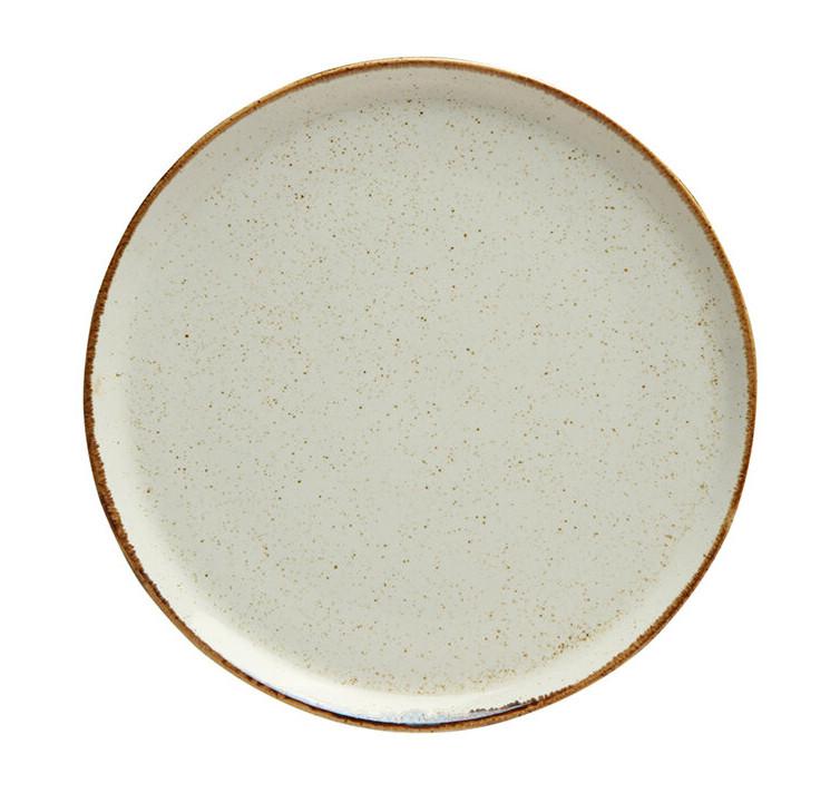 Тарелка для пиццы - 20 см, Бежевая (Porland) Seasons Beige
