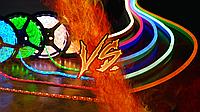 Что лучше: светодиодная лента или гибкий неон?