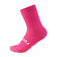 Розовые носки Warm Woolmix для девочки размеры 30/33;34/37;38/41 осень;зима;весна девочка TM Reima 527309-4650