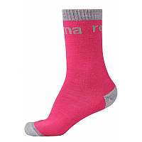 Розовые носки Boot для девочки размеры 26/29;30/33;34/37;38/41 зима девочка TM Reima 527310-4650