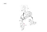 Датчик ABS передній лівий Авео Виду, Aveo T200_250_255, 9695999-7, фото 4