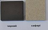 Гранитная мойка Platinum 4050 RUBY глянец белая с точкой, фото 4