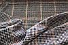 Ткань  софт принт , клетка , гусиная лапка разноцветная,  штамп глистера  пог. м., №912