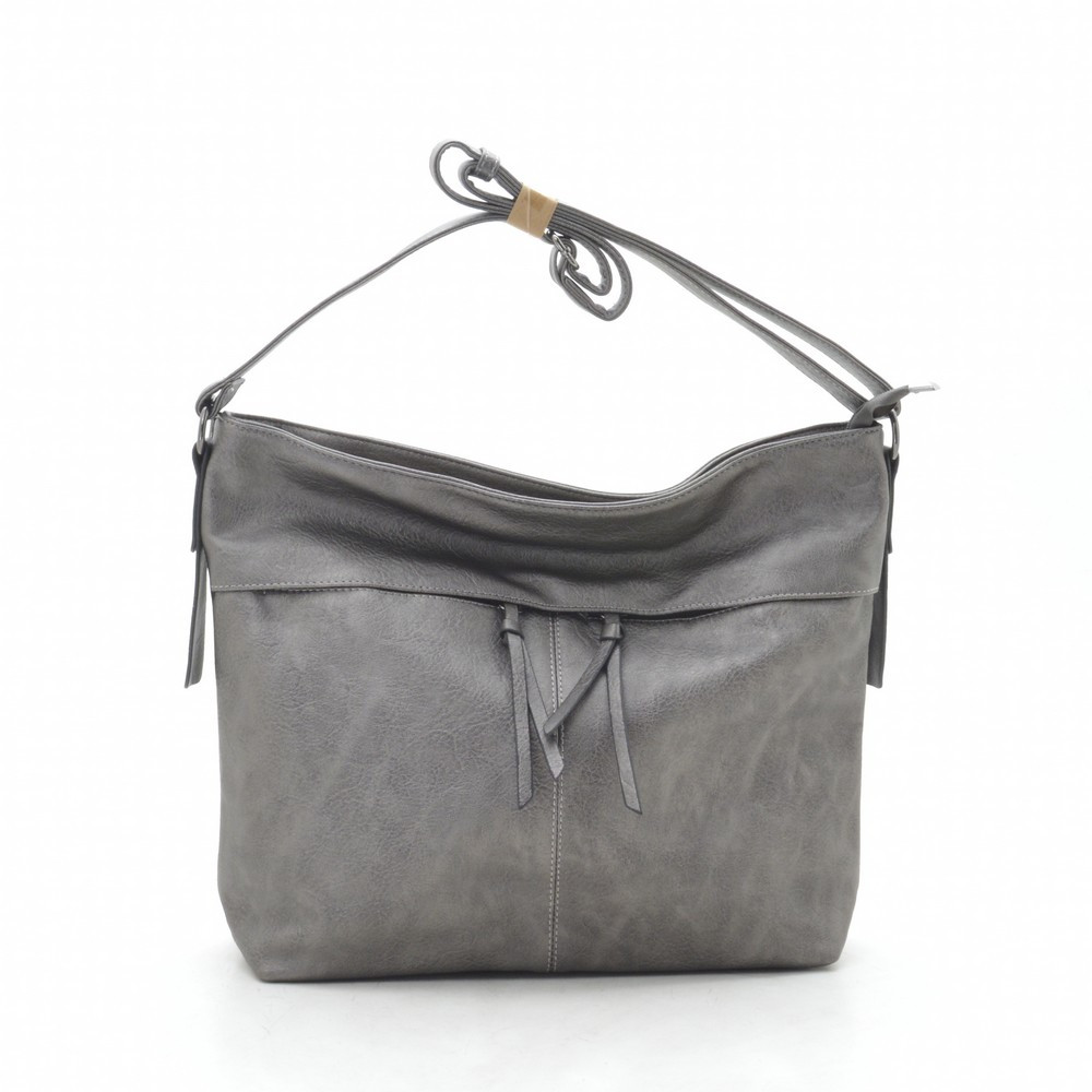Женская сумка серая 191596