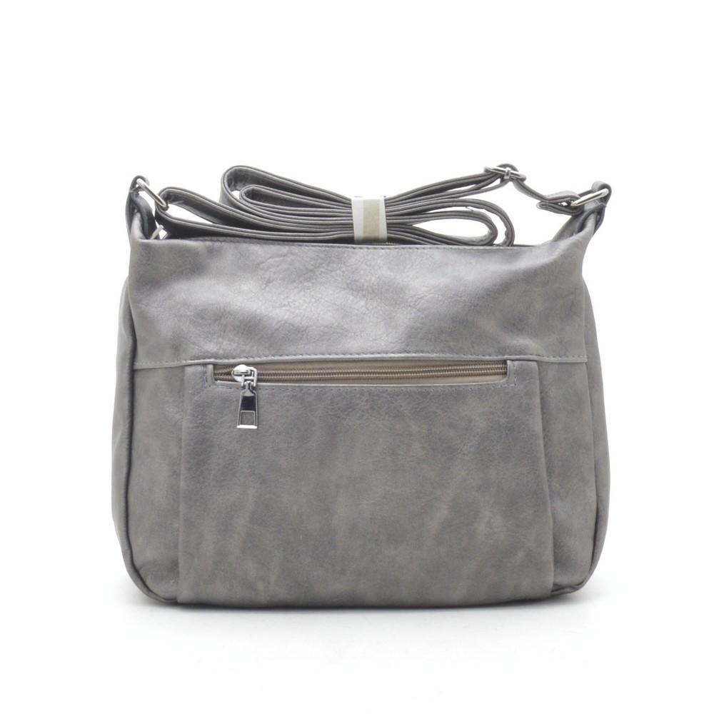 Женский клатч серый 191144