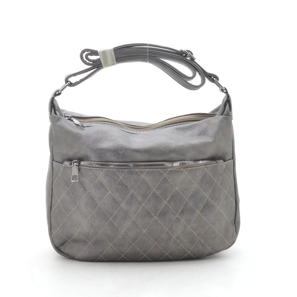 Женская сумка серая 192131
