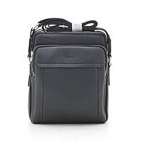 Мужская сумка через плечо черная 186395, фото 1