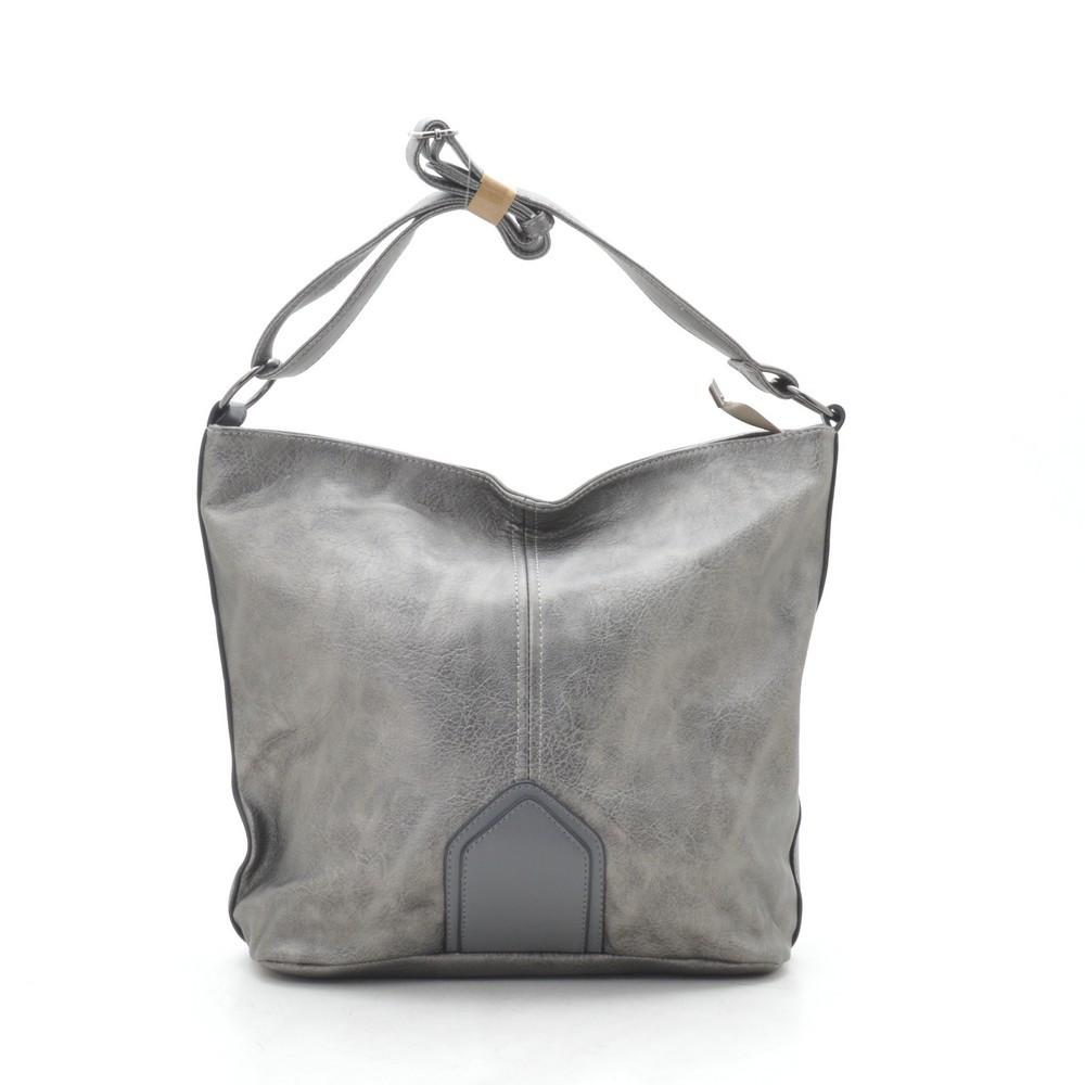 Женская сумка серая 191495