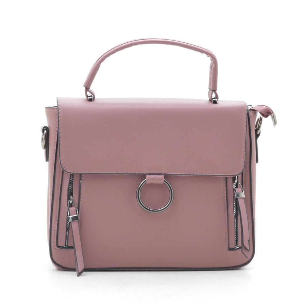 Женский клатч розовый 191056