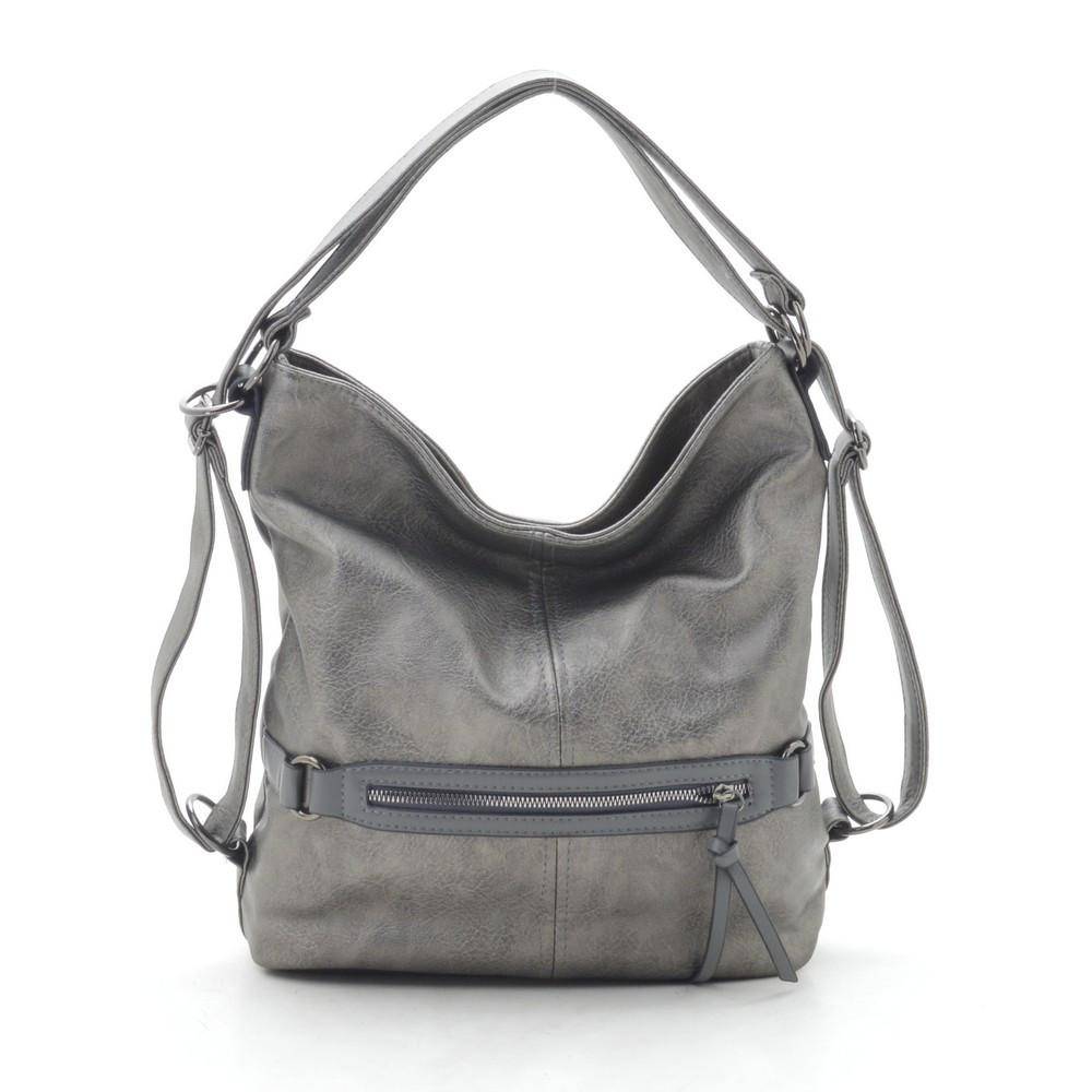 Женская сумка серая 191173