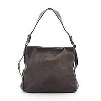 Женская сумка коричневая мягкая искусственная замша 191463, фото 1