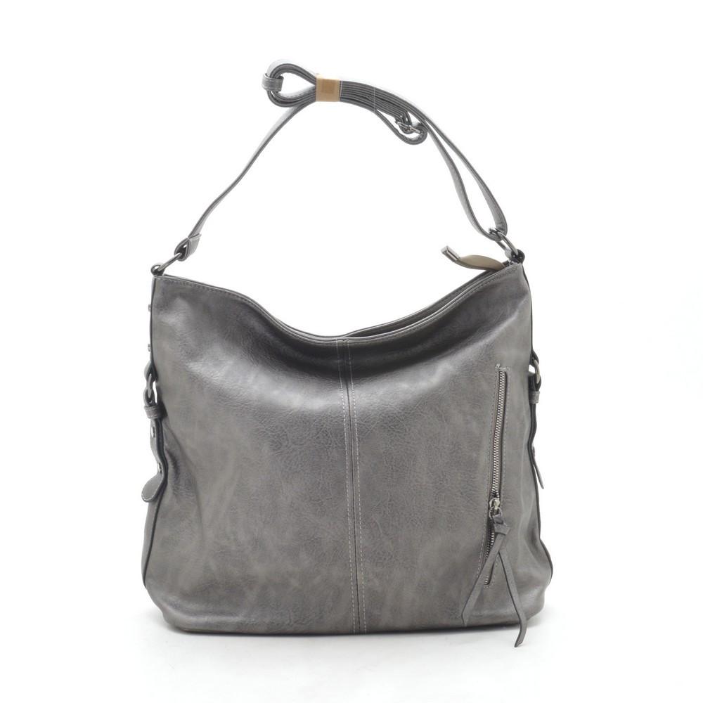 Женская сумка серая 191595