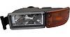 Противотуманная фара с показателем поворота [оранжевый] L MAN TGA, TGL, TGM [HQ] - DP-MA-061HQ