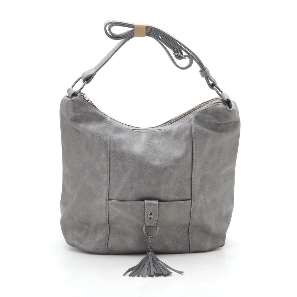 Женская сумка серая 191792